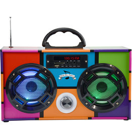 Wireless Express Retro Boom Box