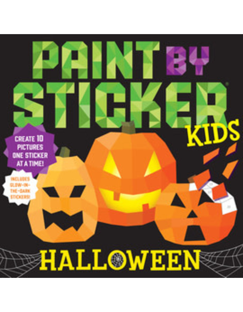 Workman Pub Paint by Sticker Halloween
