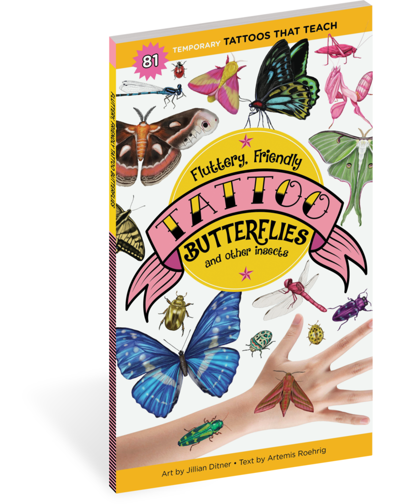 Workman Pub Fluttery Friendly Tattoo Butterflies