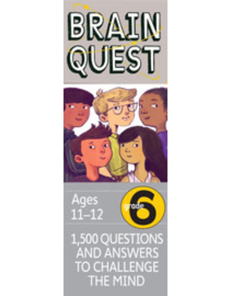 Workman Pub Brain Quest -6th Grade