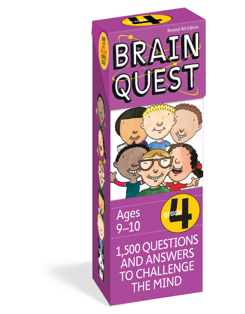 Workman Pub Brain Quest -4th Grade
