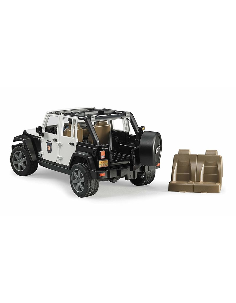 Bruder Jeep Wrangler Police Rubicon