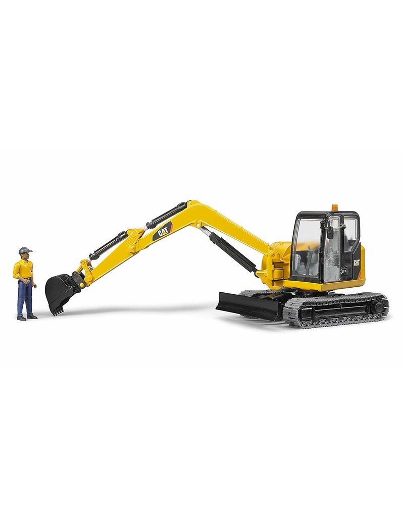 Bruder CAT Mini Excavator w/ Worker