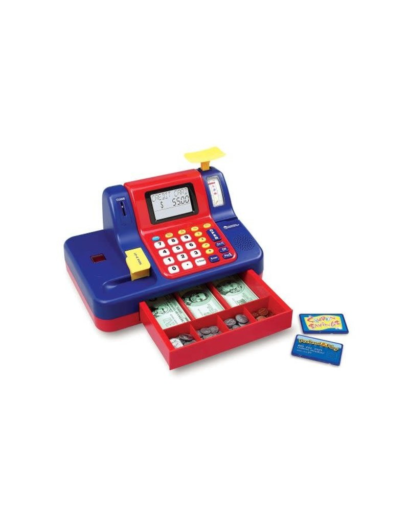 Learning Resources Teaching Cash Register