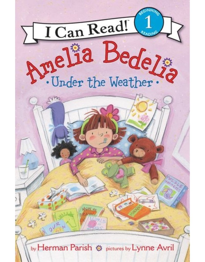 Harper Collins Amelia Bedelia Under the Weather, level one