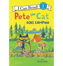 Harper Collins Pete the Cat Goes Camping