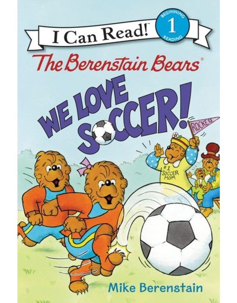 Harper Collins Berenstain Bears We Love Soccer, Level 1