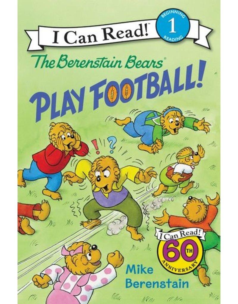 Harper Collins Berenstain Bears Play Football