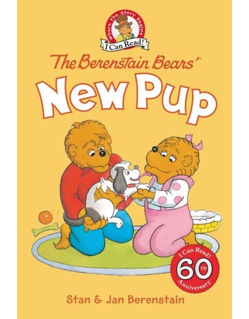 Harper Collins Berenstain Bears' New Pup, Level 1