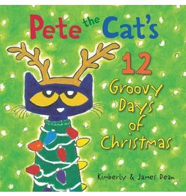 Harper Collins Pete the Cat's 12 Groovy Days of Christmas