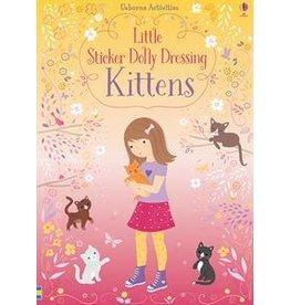 Usborne Little Sticker Dolly Dressing Kittens
