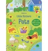Usborne Little Stickers Pets