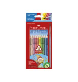 Faber-Castell 12ct Grip Watercolor EcoPencils