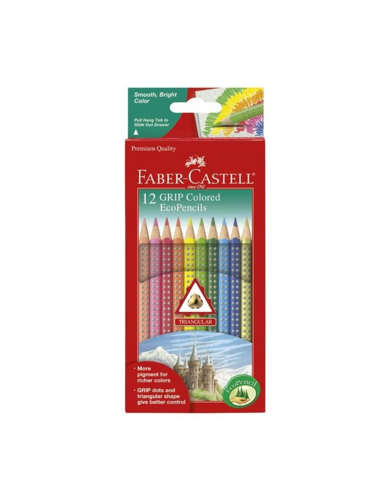 Faber-Castell 12ct Grip Colored EcoPencils