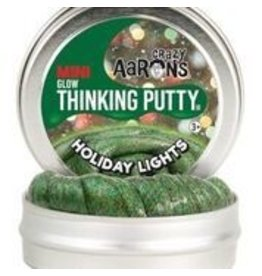 Crazy Aaron Holiday Lights Mini Putty Tin