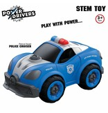 Flybar Power Driver Police Cruiser