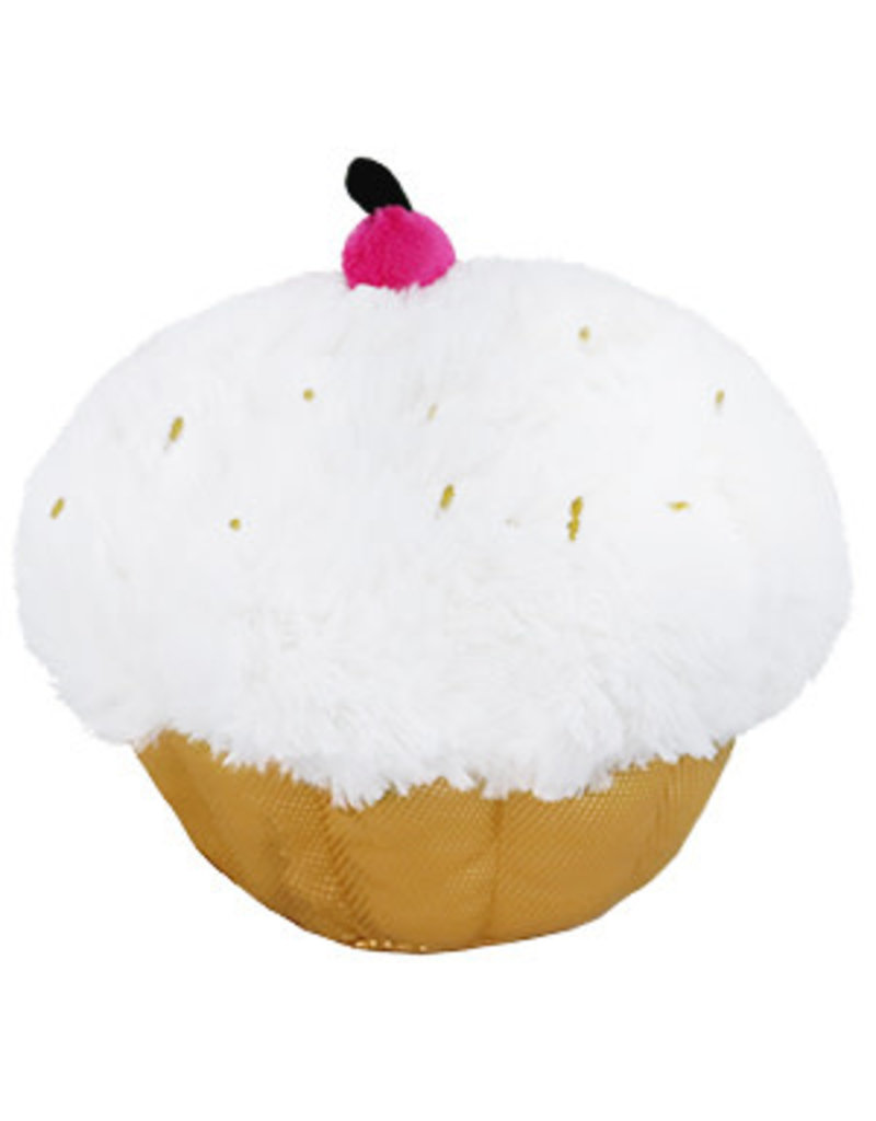Squishables Mini Golden Cupcake, Special Edition (7'')