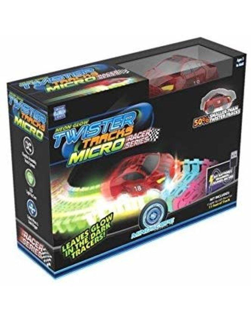Mindscope Neon Glow Twister Tracks Micro Race Series