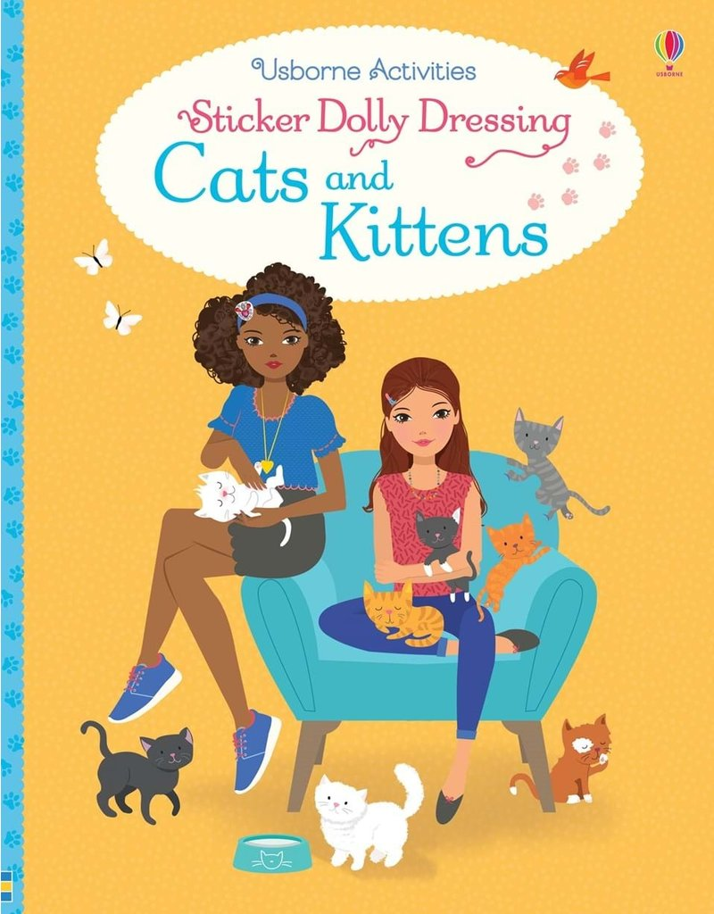 Usborne Cats and Kittens Sticker Dolly