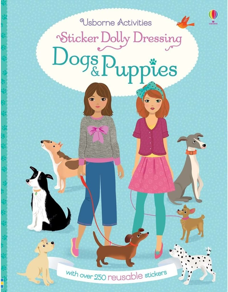 Usborne Dogs & Puppies Sticker Dolly