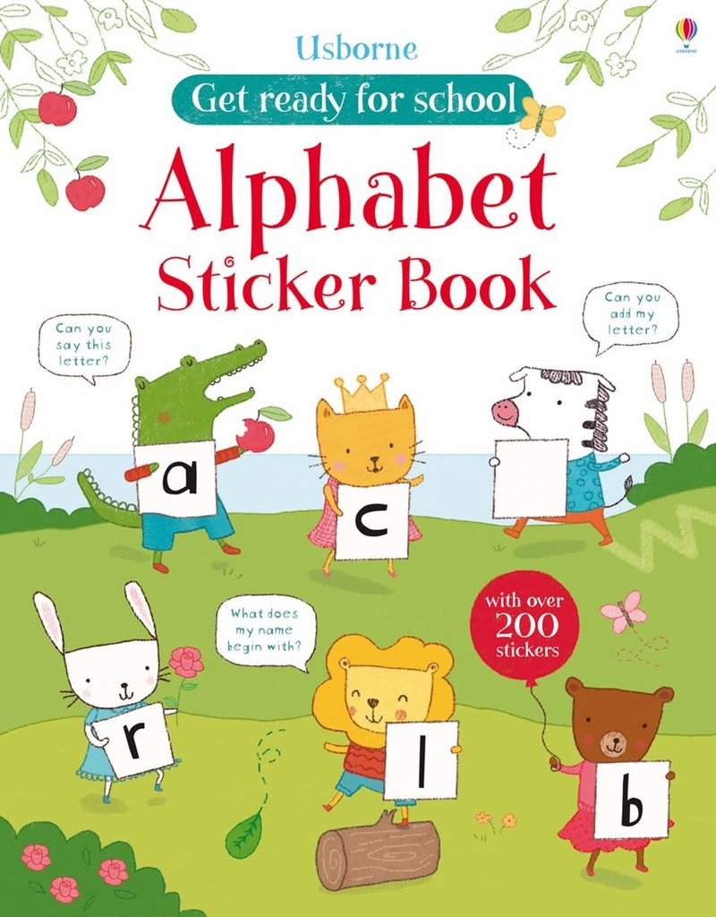 Usborne Alphabet Sticker Book