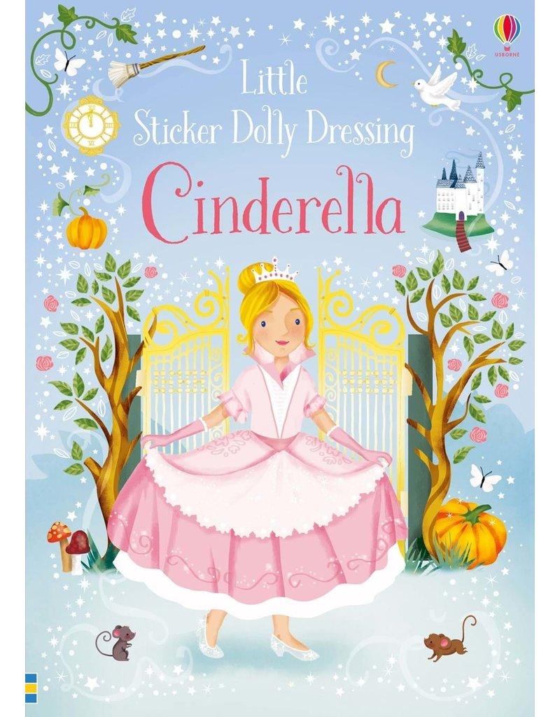 Usborne Little Sticker Cinderella