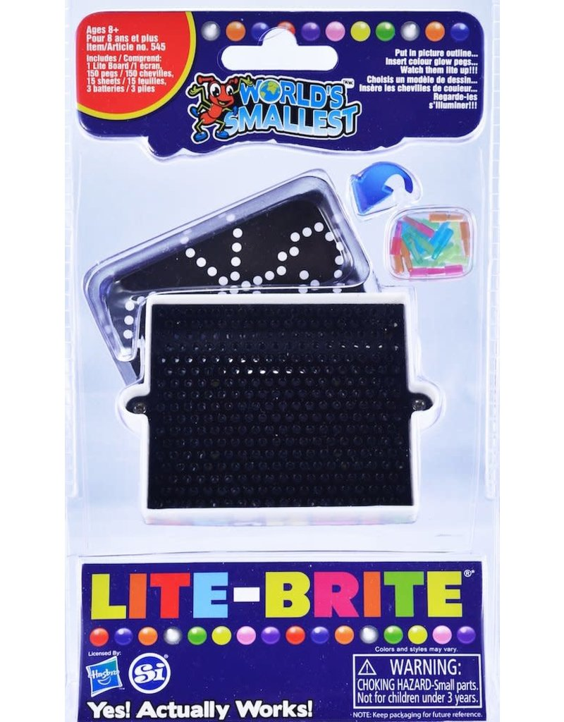 Super Impulse World's Smallest Lite Brite