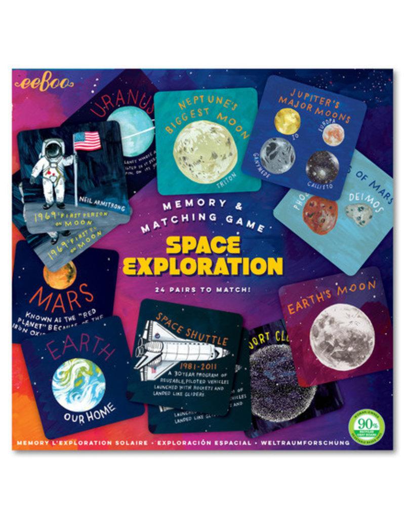 Eeboo Space Exploration Memory Game