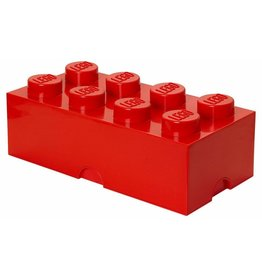 Lego LEGO STORAGE BRICK 8 Red