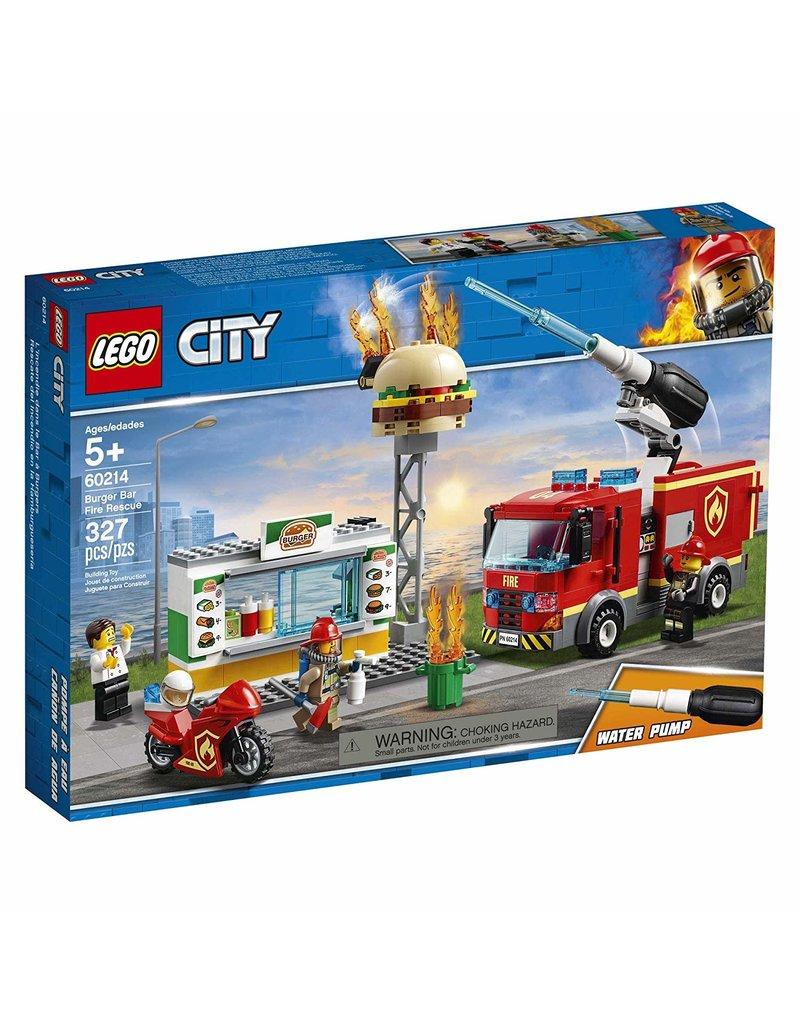 Lego Lego City Burger Bar Fire Rescue