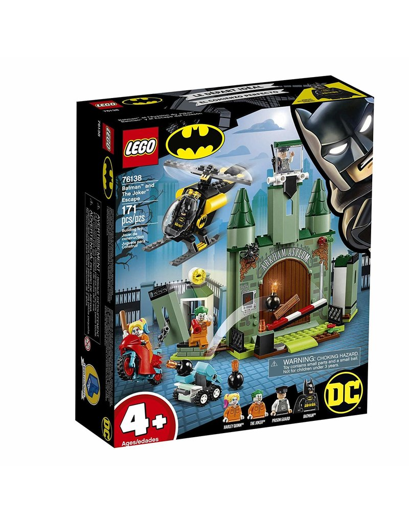 Lego Lego Batman and The Joker Escape