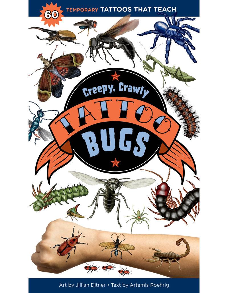 Workman Pub Creepy, Crawly Tattoo Bugs
