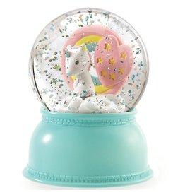 djeco Snowglobe Nightlights Unicorn