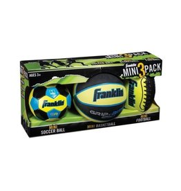 Franklin Sports Mini 3 Ball Pack