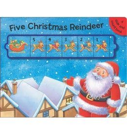 Simon & Schuster Five Christmas Reindeer