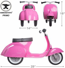 Ambosstoys Primo Ride-On Toy - pink