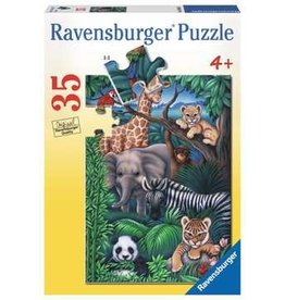 Ravensburger Animal Kingdom 35 pc