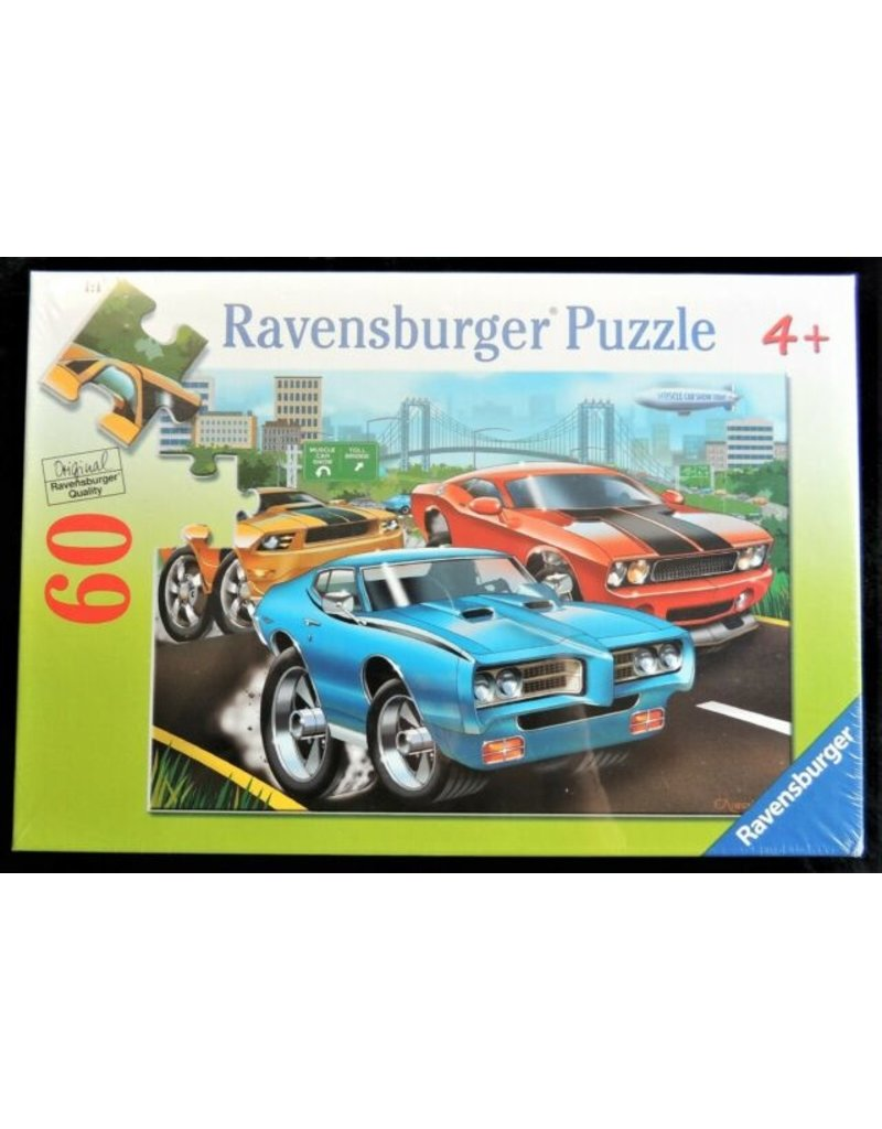 Ravensburger Muscle Cars 60 pc