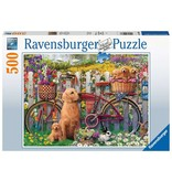 Ravensburger Cute Dogs in the Garden 500 pc