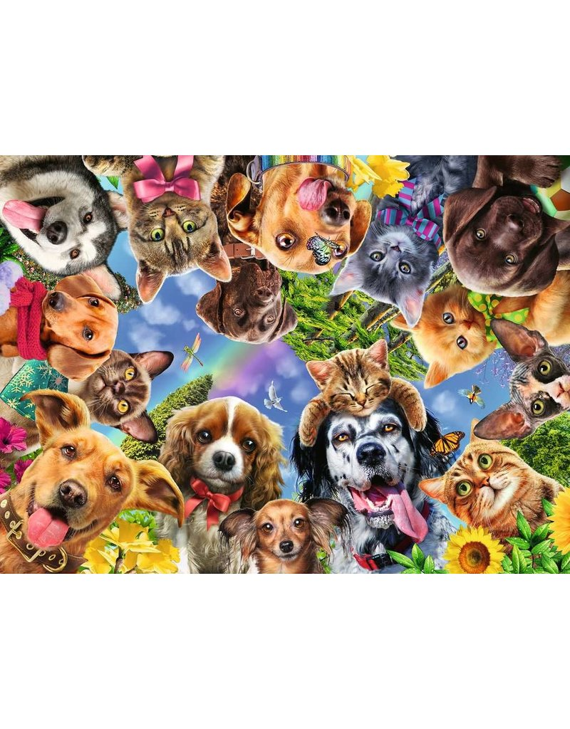Ravensburger Animal Selfie 500 pc