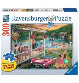 Ravensburger Summer at the Lake 300 pc XL