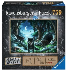 Ravensburger The Curse of the Wolves Escape Pzl