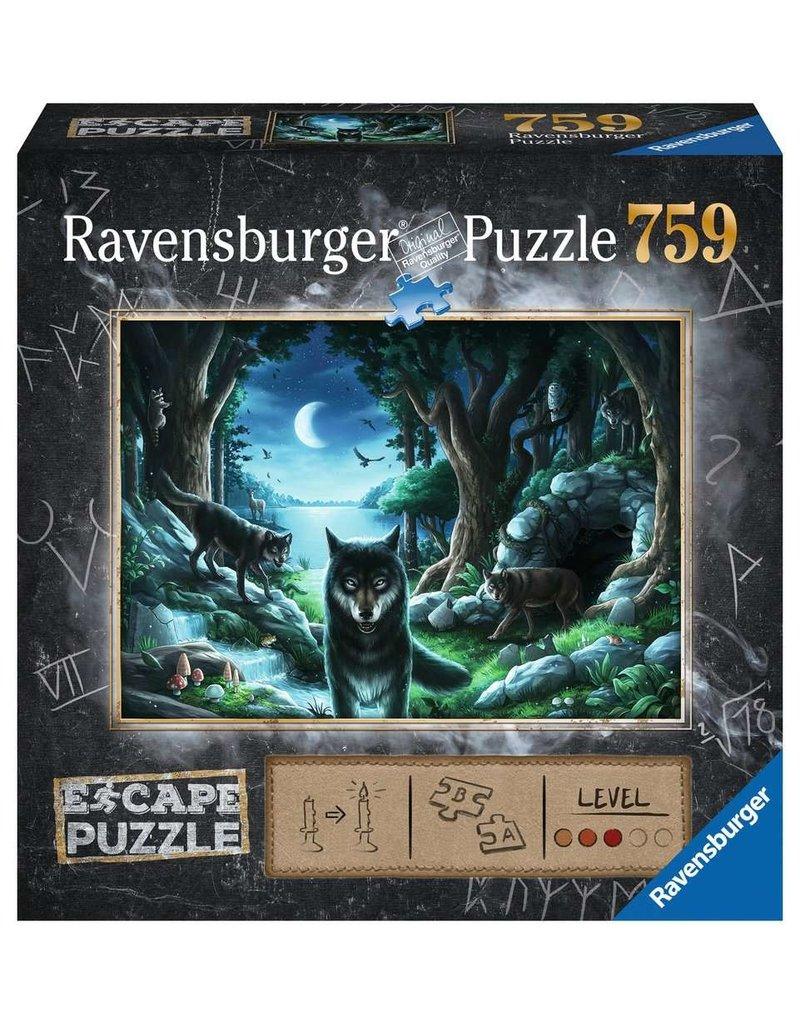 Ravensburger The Curse of the Wolves Escape Pzl
