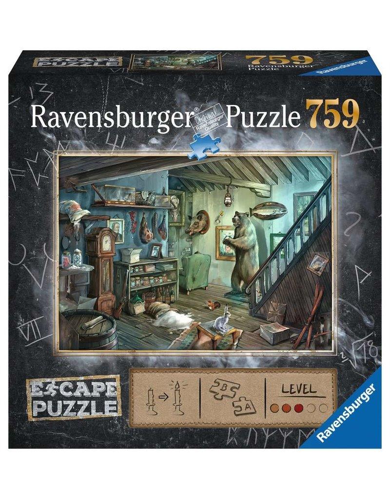 Ravensburger The Forbidden Basement Escape Pzl