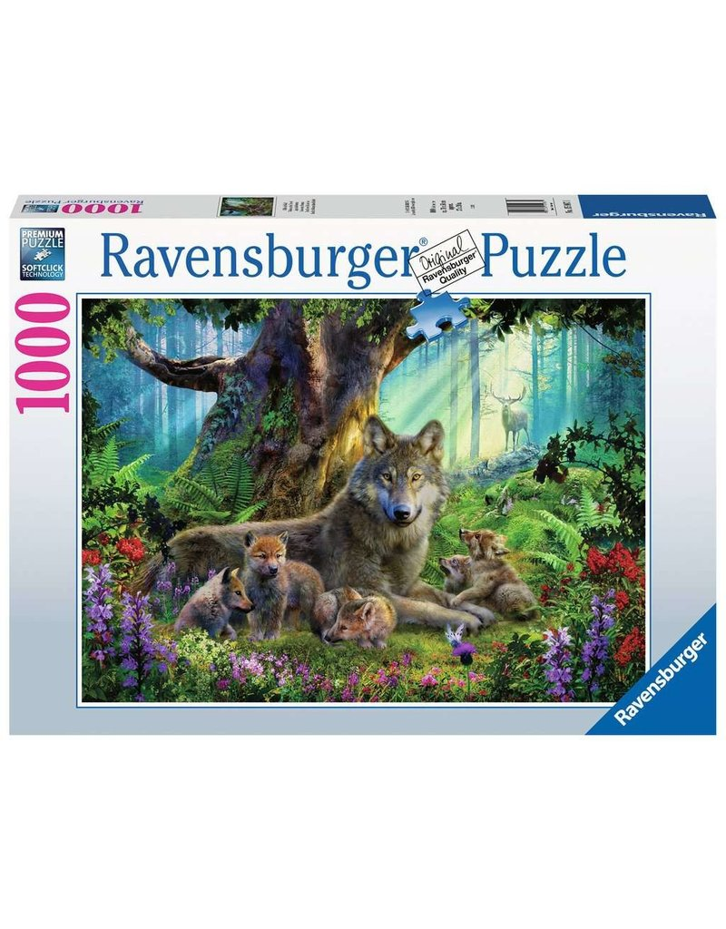 Ravensburger Wolves in the Forest 1000 pc
