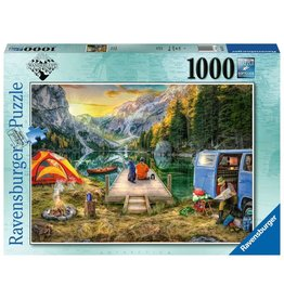 Ravensburger Calm Campsite 1000 pc