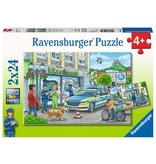 Ravensburger Police at Work 2 x 24