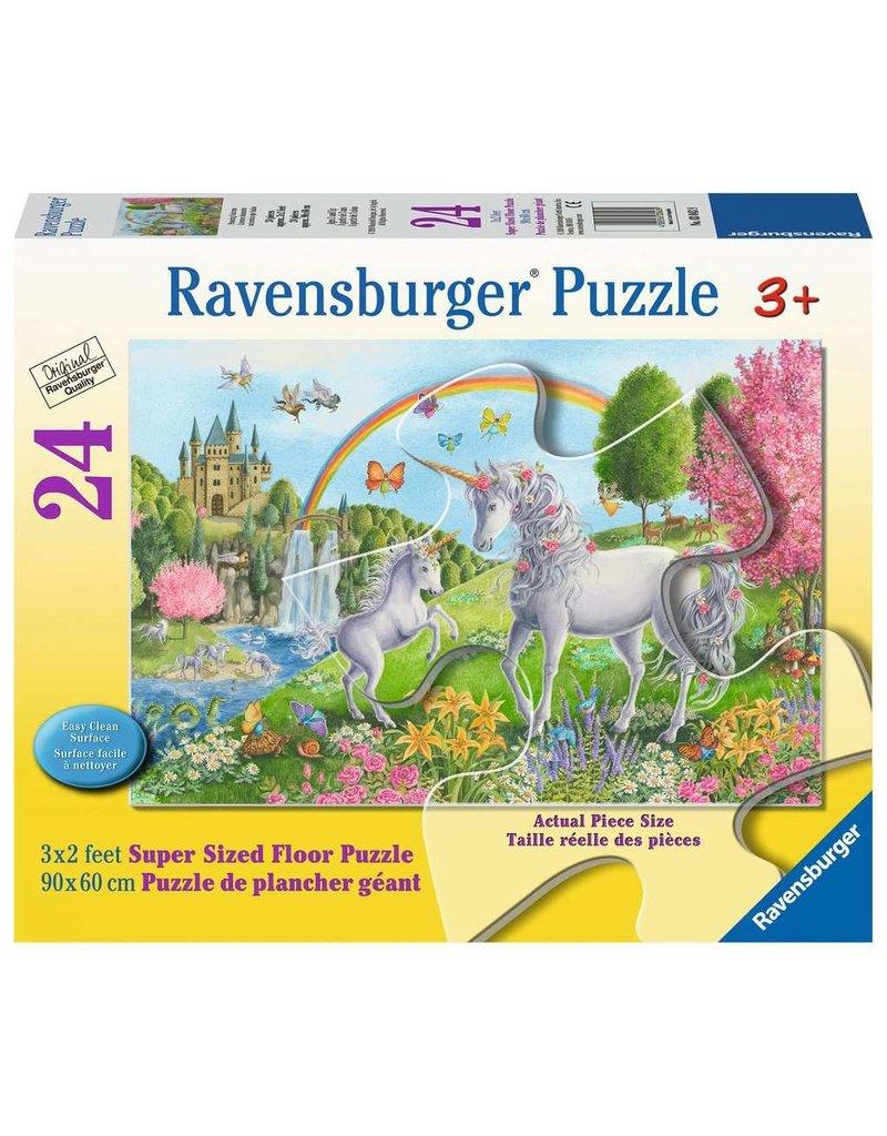 Ravensburger Prancing Unicorns floor pzl
