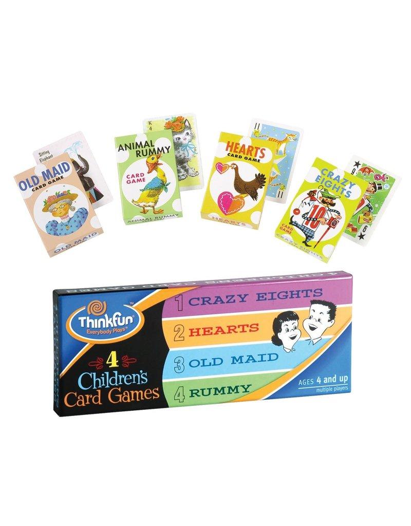 Think Fun Four Children's Card Games