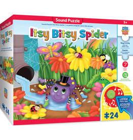 Masterpieces Puzzles Itsy Bitsy Spider Sing-a-Long 24 pc